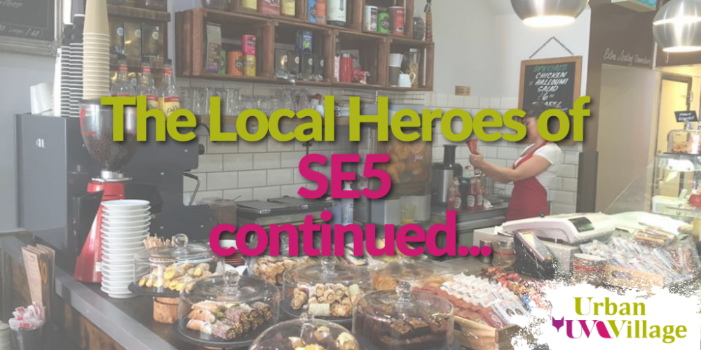 UVH Blog - Urban Village: local heroes continued!