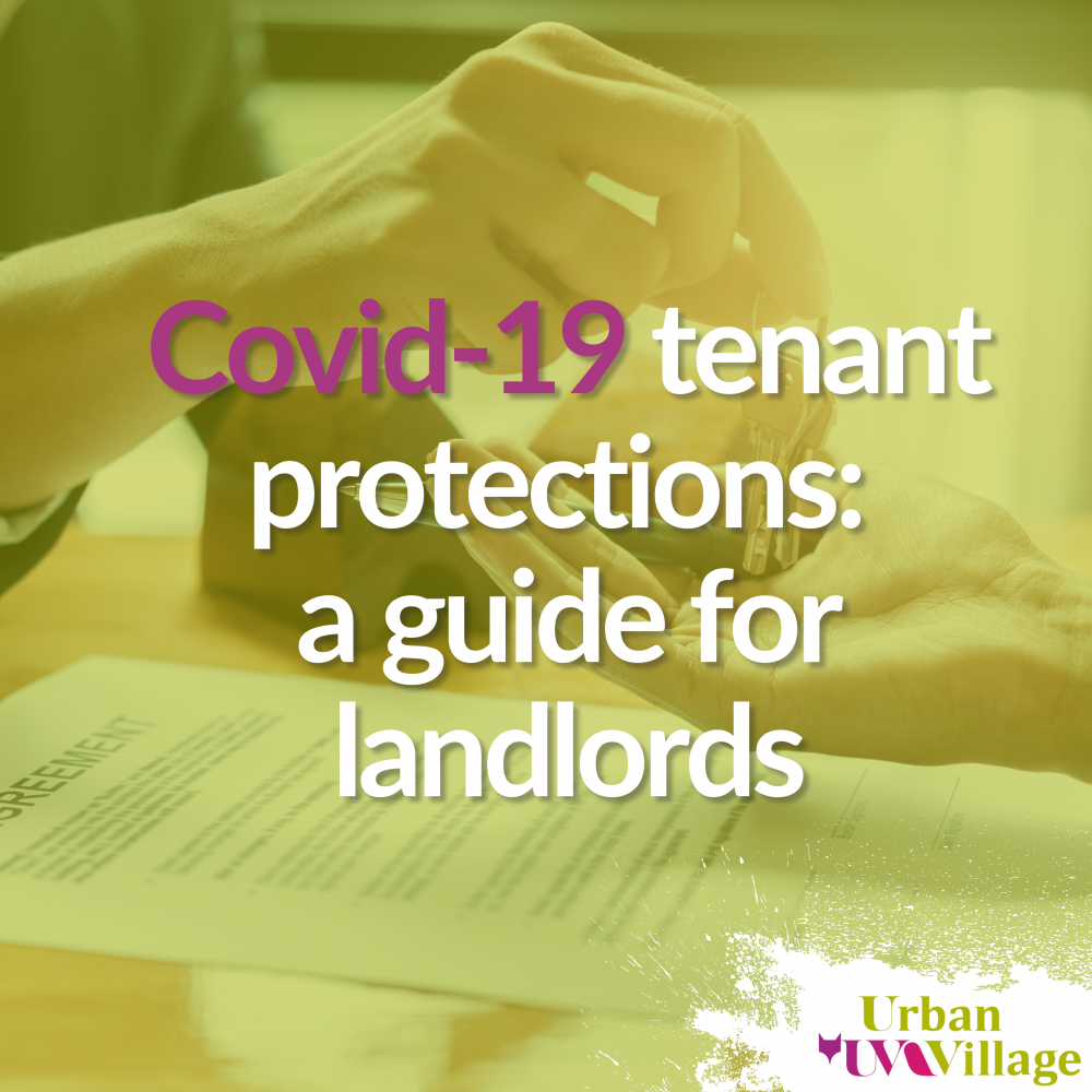 UVH Blog - Covid-19 tenant protections: a guide for landlords